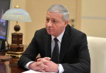 Президент России встретился с главой Республики Северная Осетия-Алания
