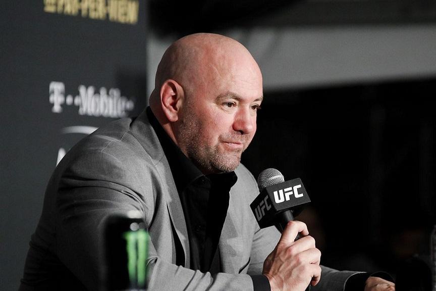 Президент UFC Дэна Уайт
