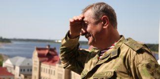 Главный гвардеец центральной России - осетин